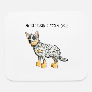 Australian Sheep Dog Cute Australian Cattle Dog - Dogs - Mouse Pad
