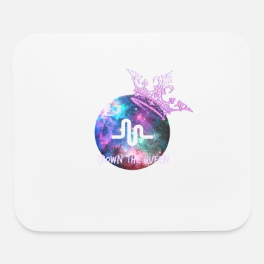 Musically crown the queen - Mouse Pad
