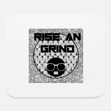 Afro RISE AN GRIND IN SEXY AFRO - Mouse Pad