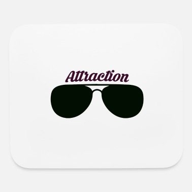 Attractive Sunglass Attraction - Mouse Pad