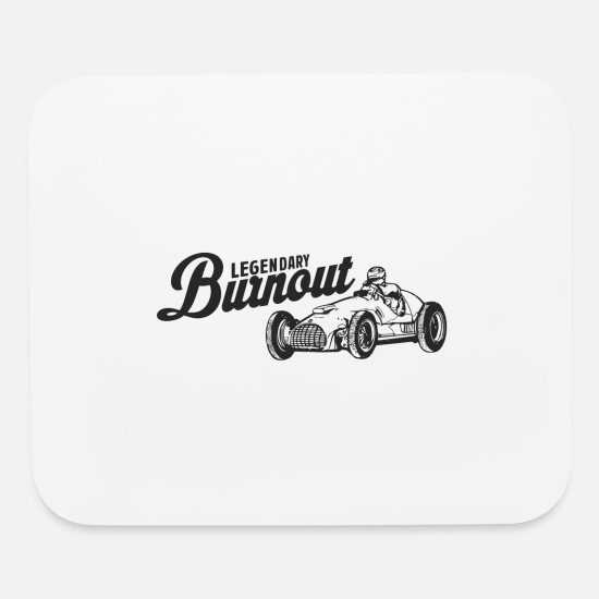 Burnout Mouse Pads - Legendary burnout - Mouse Pad white