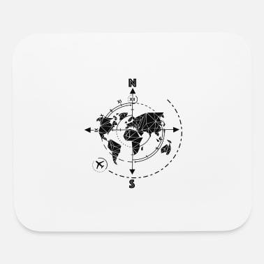 Facet Linear time travel / explore, adventure, tour - Mouse Pad