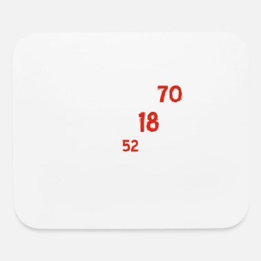 70th 70th birthday designs - Mouse Pad