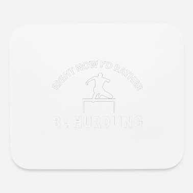 Hurdle Hurdling designs - Mouse Pad