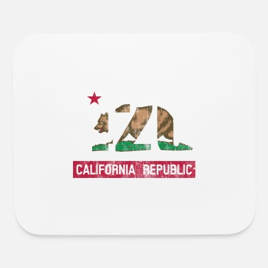 California Republic Flag 420 California Republic Flag - Mouse Pad