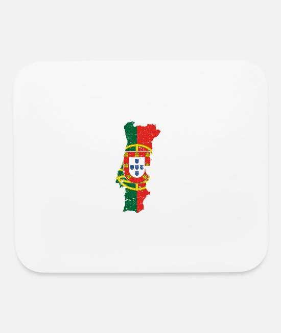 Proud Mouse Pads - Portugal - Mouse Pad white