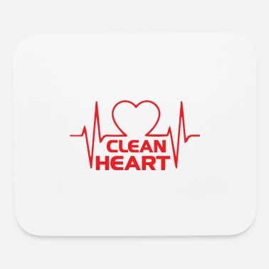 Clean Clean heart - Mouse Pad