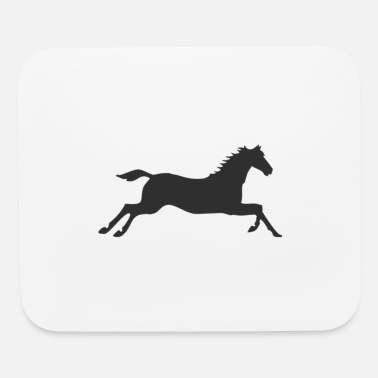 Gallop Horse at a gallop - Mouse Pad