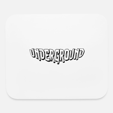 Underground Letters - Mouse Pad