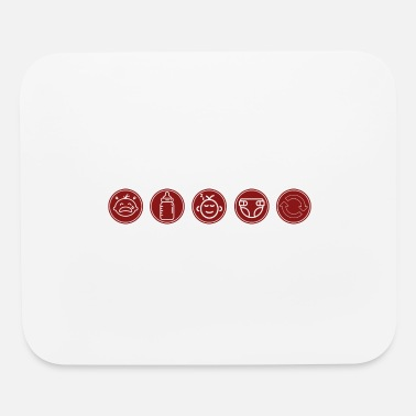 Baby Sayings Baby Baby Baby - Mouse Pad