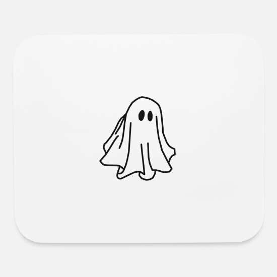 Gift Idea Mouse Pads - Ghost - Mouse Pad white