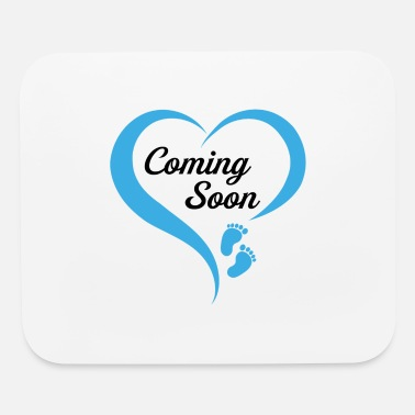 Excuse Me Is It March Yet Coming Soon Baby Boy - Mouse Pad