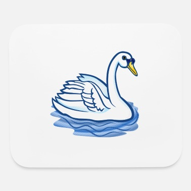 swan3 - Mouse Pad