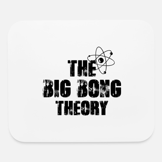 Drug Mouse Pads - The big bong Theory - Mouse Pad white