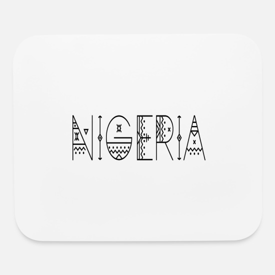 Love Mouse Pads - Nigeria - Mouse Pad white