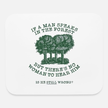 Forest In The Forest - Mouse Pad