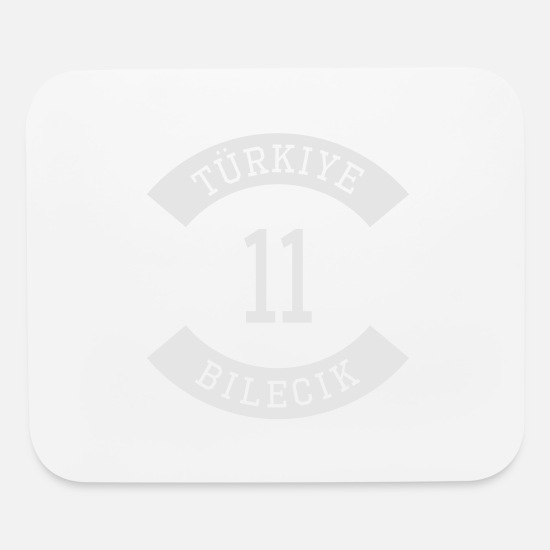 Moon Mouse Pads - turkiye 11 - Mouse Pad white