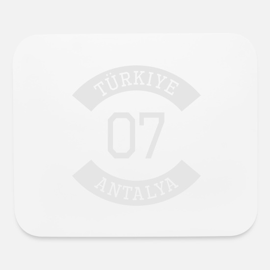 Antalya Mouse Pads - turkiye 07 - Mouse Pad white