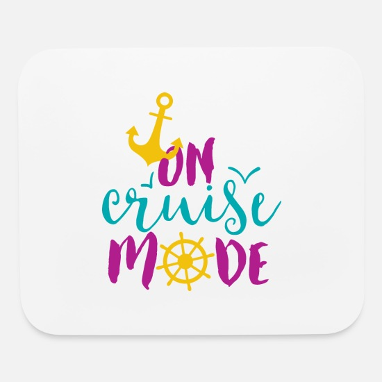 Mode Mouse Pads - On Cruise Mode - Mouse Pad white