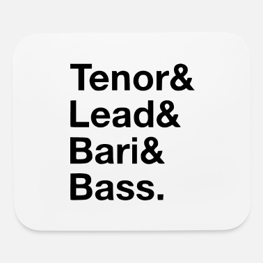 Tenor tenor lead - Mouse Pad