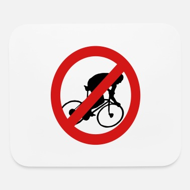 Prohibition Prohibit Bikes - Mouse Pad