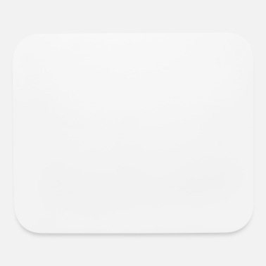 White AT WHITE - Mouse Pad