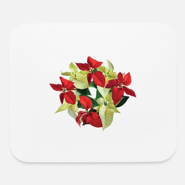 Poinsettia Circle of Poinsettias - Mouse Pad