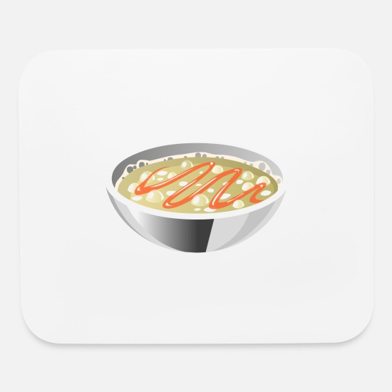 Vegetables Mouse Pads - suppe eintopf soup bowl noodle kochen food15 - Mouse Pad white