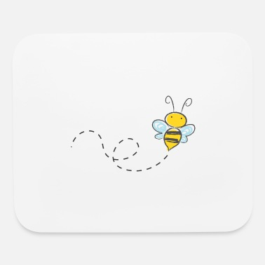 Bees bee - Mouse Pad