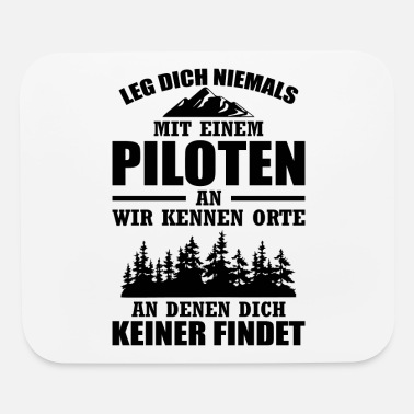Model Airplane Pilots airplane gift copilot aviation - Mouse Pad