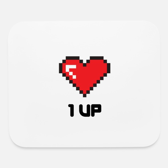 1up Mouse Pads - 1 up - Mouse Pad white