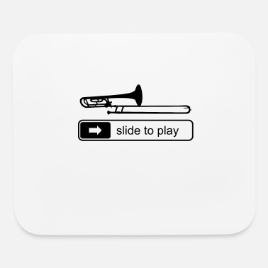 Screen Trombone Trombonist Player Music Quotes Funny Gift - Mouse Pad