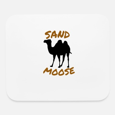 Moose SAND MOOSE SHIRT FUNNY ANIMAL DESIGNS - Mouse Pad