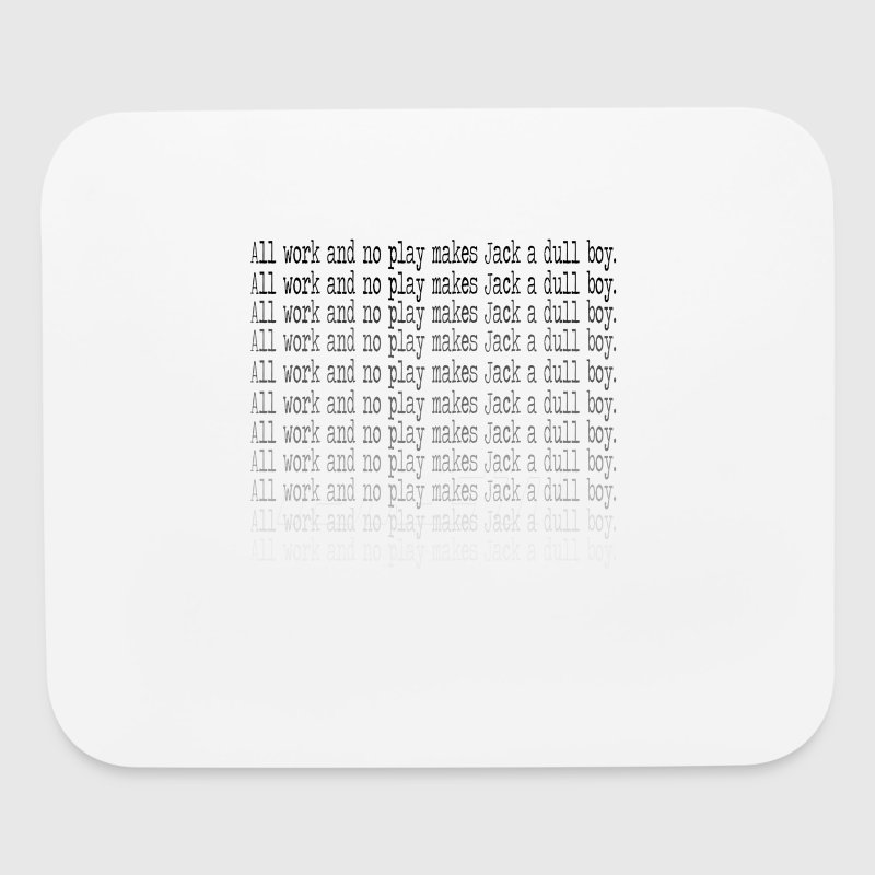 Shining button - Mouse pad Horizontal