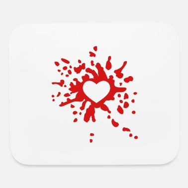Bloody Bloody Heart - Mouse Pad
