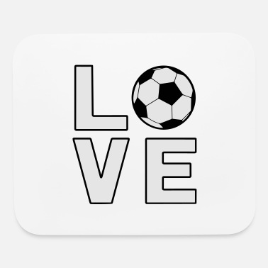Worldcup Love Soccer Football Worldcup - Mouse Pad