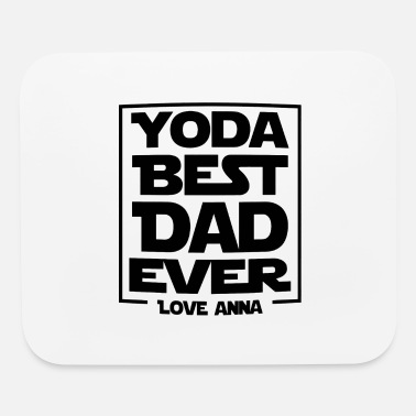 Grandpa Yoda Best Dad Ever - Mouse Pad
