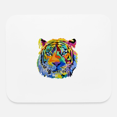 Christmas Tiger Pop T Shirt - Mouse Pad