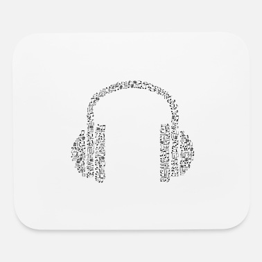 Note Clue headphone notes - Mouse Pad