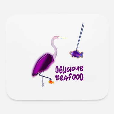 Seafood Delicious Seafood - Mouse Pad