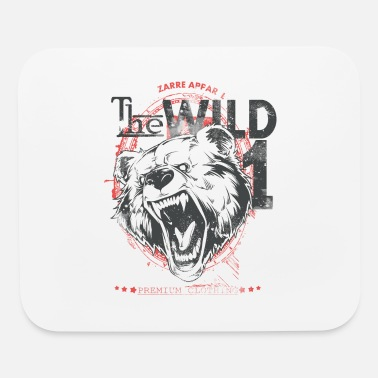Wild Wild Bear into the wild - Mouse Pad