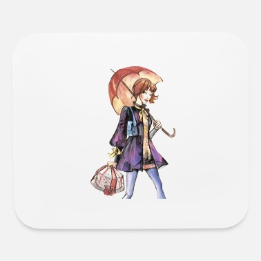 Chic Chic in Rain - Mouse Pad