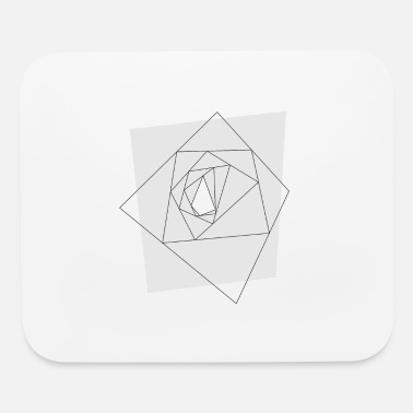 Abstract geometrical tunnel - Mouse Pad