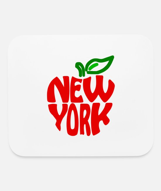 New York City Mouse Pads - Big Apple - New York - NYC - USA - East Coast - Mouse Pad white
