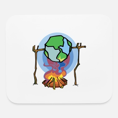 Earth Day Global Warming - Mouse Pad