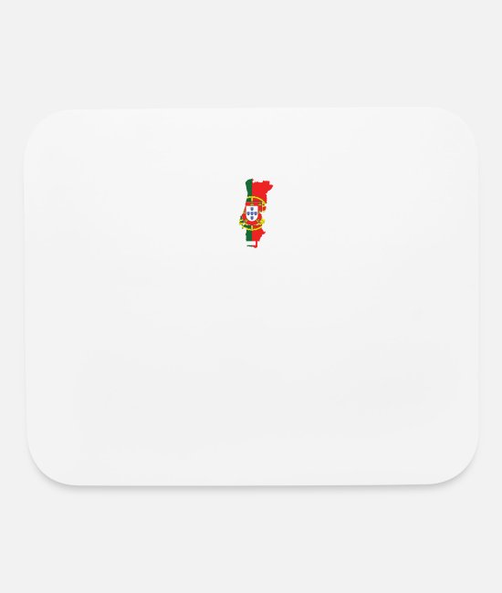 Schland Mouse Pads - Legends are born in Portugal - Mouse Pad white