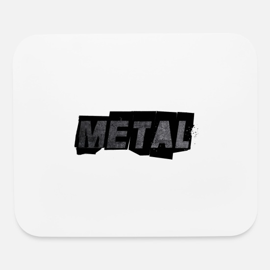 Gift Idea Mouse Pads - METAL - Mouse Pad white