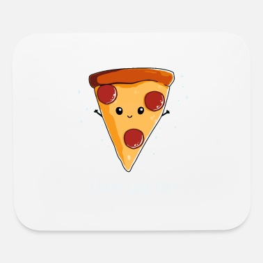 I Love I Love Pizza - Mouse Pad