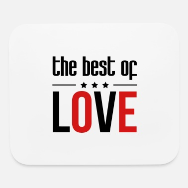 Romantic Joke Darling The best of Love - Mouse Pad