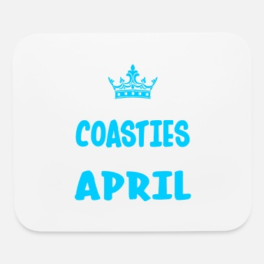 Coastie The Best Coasties Are Born In April - Mouse Pad